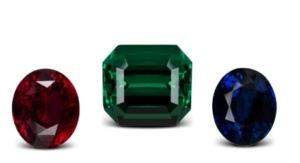 Fine colored stones