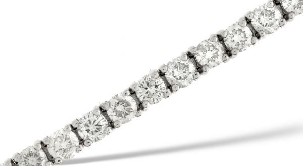 14K Gold 9.00Ct. Genuine Diamond Wedding Engagement Tennis Bracelet Fine Jewelry