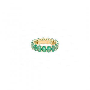 Multi-Emerald Ring