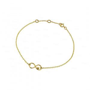 Infinity Knot Coeur Bracelet