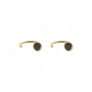 Hoop Cuff Earrings