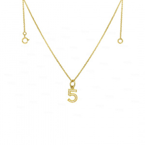 Personalized Numeral Neckace