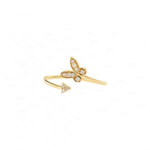 Papillon Arrowhead Open Cuff Ring