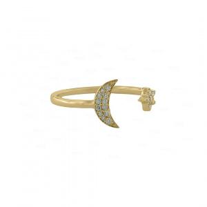 Luna Nova Cuff Ring