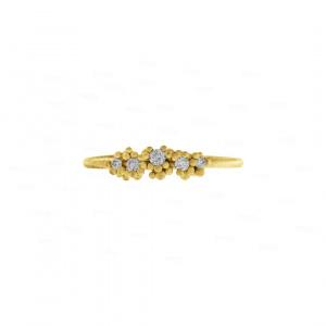Golden Cluster Ring