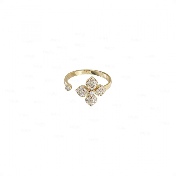 Floral Cuff Ring