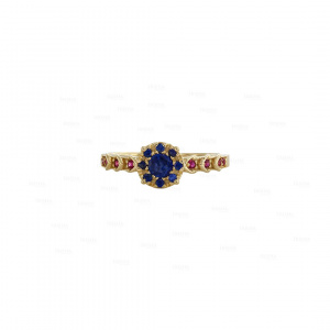 Ruby Sapphire Vintage Ring