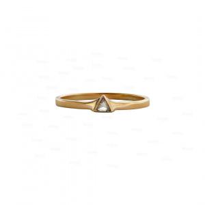 Trillion Diamond Wedding Ring