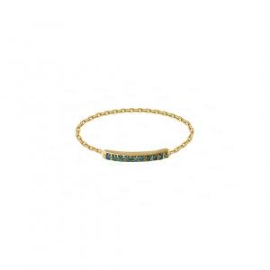 Moana Bar Chain Ring