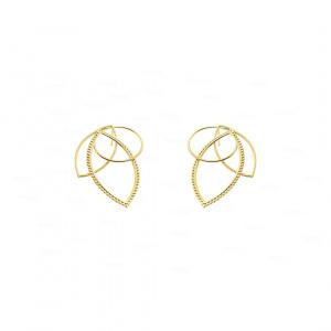 Maple Earrings   Beaded