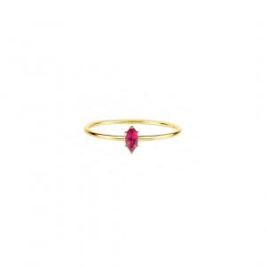 Marquise Custom Gemstone Ring 14k Gold,Ruby/Emerald/Sapphire