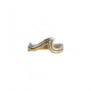 Beach Baby Ring|14k Yellow And White Gold
